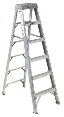 Where to find STEP LADDER, 12 , ALUMINUM in Wautoma