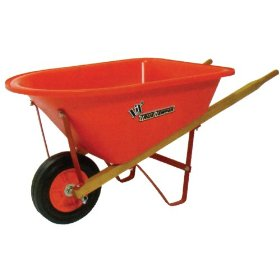 Where to find WHEEL BARROW, ORANGE, POLY in Wautoma
