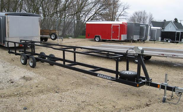Where to find PONTOON BOAT TRAILER, 24 in Wautoma