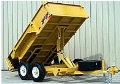 Where to rent T207  DUMP TRAILER, 14 , B B in Wautoma WI