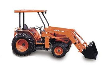 Where to find TRACTOR, KUBOTA L48, 4WD in Wautoma