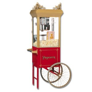 Where to find POPCORN POPPER ON CART in Wautoma
