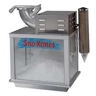 Where to find SNO-KONE MACHINE, ICE CRUSHER in Wautoma