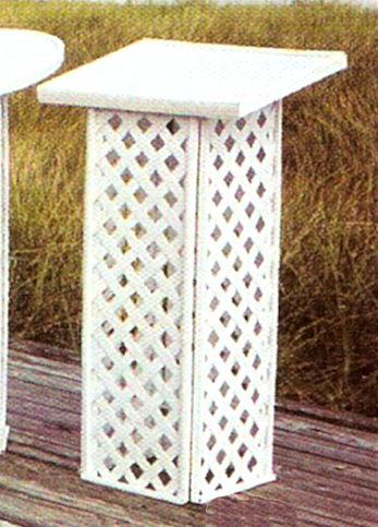 Where to find GUEST BOOK STAND, WHITE, LATTICE in Wautoma