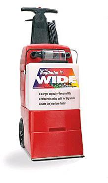 Where to find CARPET CLEANER, WIDE TRACK, RUG DR. in Wautoma