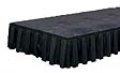 Where to rent TABLE SKIRT, 6 X12 , BLACK in Wautoma WI