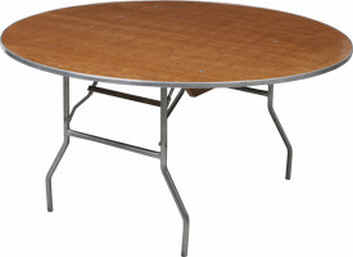 Where to find TABLE, 60 , ROUND, WOOD in Wautoma