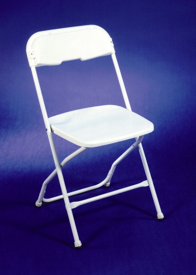 Where to find FOLDING CHAIR, WHITE, PLASTIC in Wautoma