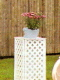 Where to rent FLOWER STAND, WHITE, LATTICE in Wautoma WI