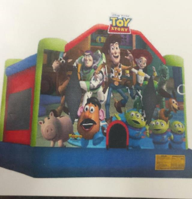 Where to find INFLATABLE TOY STORY 3 CASTLE in Wautoma