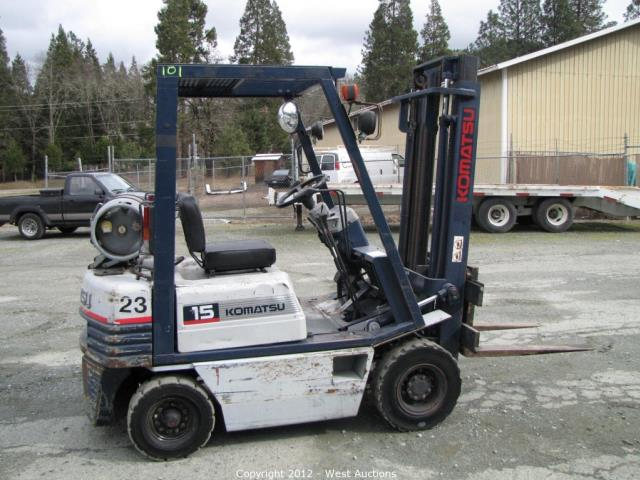 Where to find KOMATSU FORKLIFT 13  3000LB LIFT in Wautoma