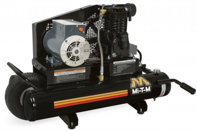 Where to find COMRESSOR, 5 HP Mi-T-M ROLLER-GAS POWER in Wautoma