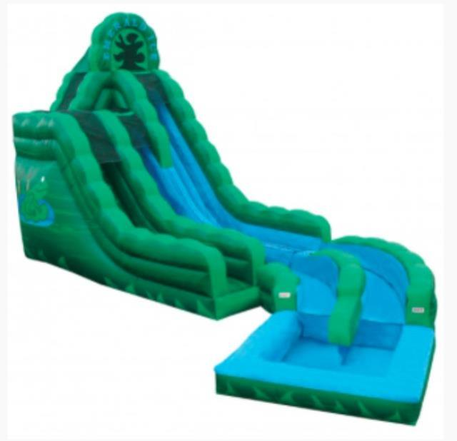 Where to find INFLATABLE SLIDE EMERALD ICE in Wautoma